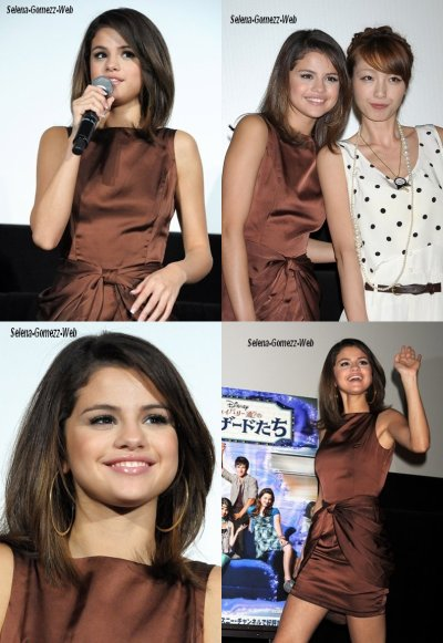 Selena Gomez: 'Wizards' Promo Event in Tokyo!