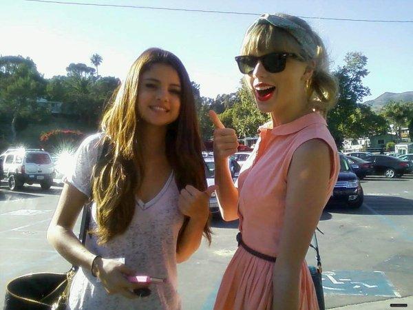 Selena & Taylor Swift au restaurant Paradise Cove