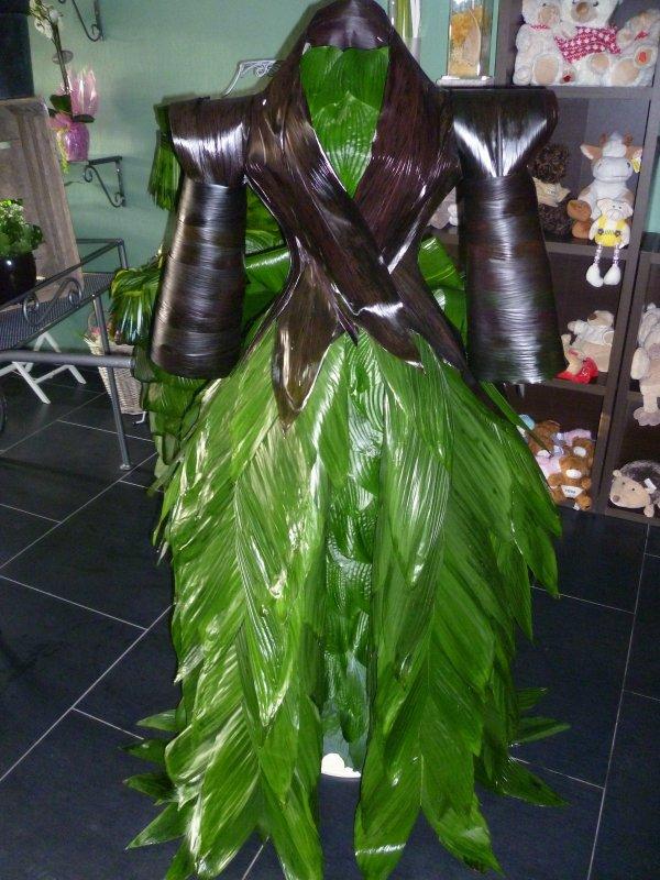 Robe pour le salon Kiwanis de l'artisant à Gerpinnes le 21/05/11
