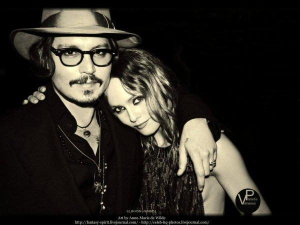 Johnny Depp et Vanessa Paradis