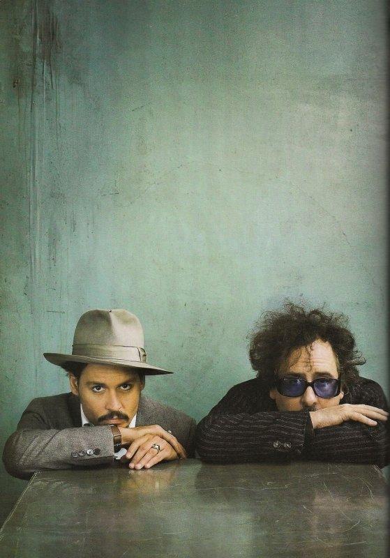 Johnny Depp et Tim Burton