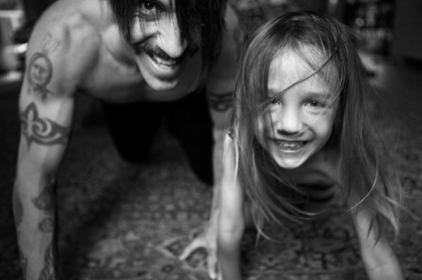 Anthony Kiedis et Everly Bear Kiedis