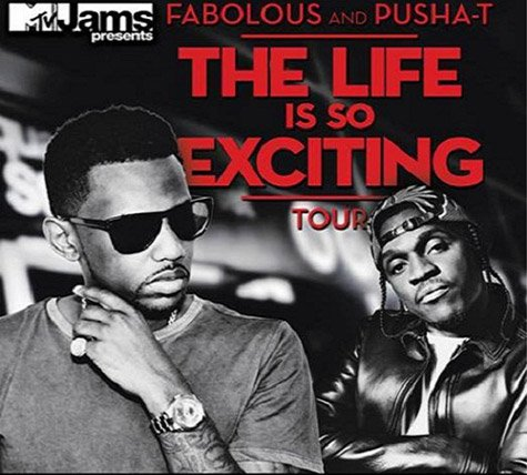 "Fabolous & Pusha T Annonce ""The Life Is So Exciting"" 'Tour"