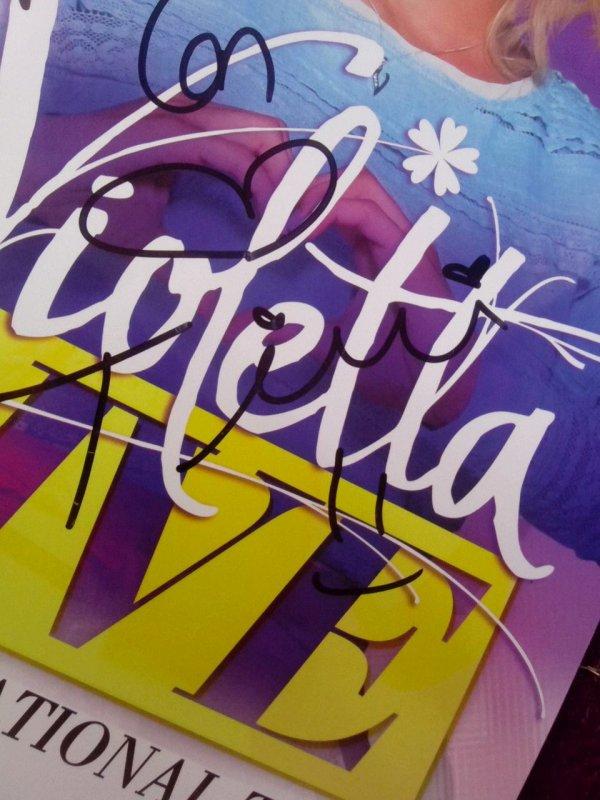 Violetta live !