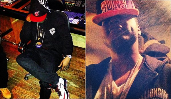 """Young Chris In Studio Pour Album """"Alive"""" + Video shoot Jahlil feat myself , Money , H*es, Clothes !"""