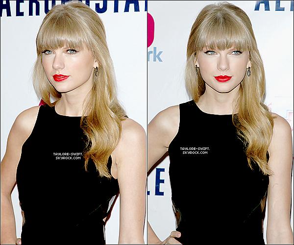 . 07.12.2012 :   Taylor  était  au Z100's Jingle Ball 2012 au Madison Square Garden.Vos avis ? .