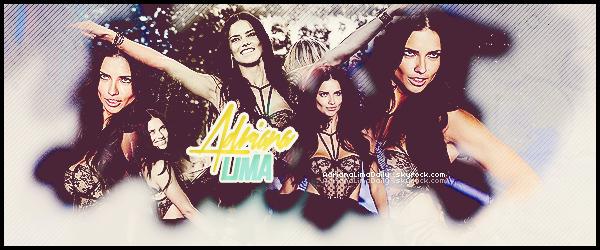 www.AdrianaLimaDaily.sky ♥  Votre source d'actualité sur la Top Model  ▪ A travers candids, events, photoshoots et autres, suis le train-train quotidien d'Adriana Lima  .