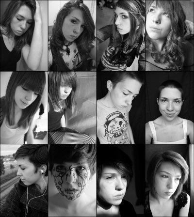 Autos-portraits d'Émilie
