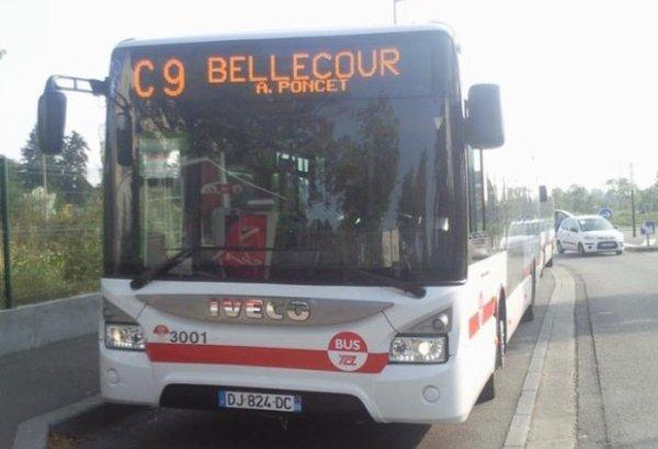 nouveau bus sur le résaux 3001 irsbus urbaway