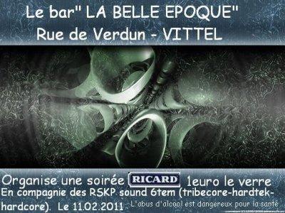 11 février 2011 – Vittel – LA belle Epoque