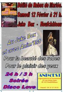Nouvelle animation d'Anim'Est, le samedi 12 février au Juke Box de Neufchâteau