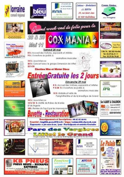Affiche final de Cox Mania 4