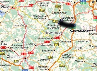 Cox Mania 4 en repli à Goussaincourt (55) et c'est la fête au village