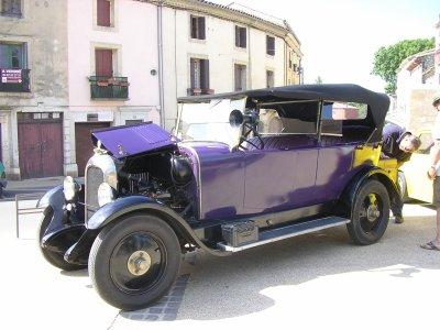 La Citroen B14  de 1928 de Mr Martin Haskin