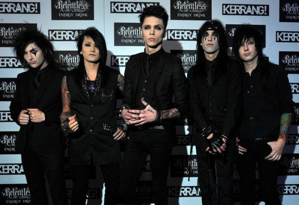 Le groupe de Andy: Black Veil Brides!