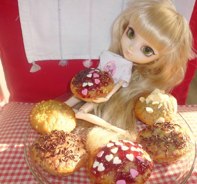 monde de fraises et des gateaux