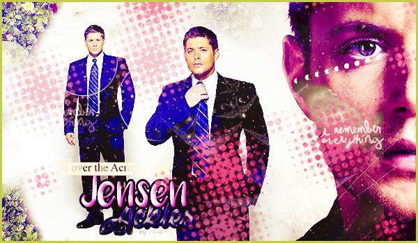 Quelques créations du beau Jensen Ackles qui joue le rôle de Dean Winchester dans Supernatural.