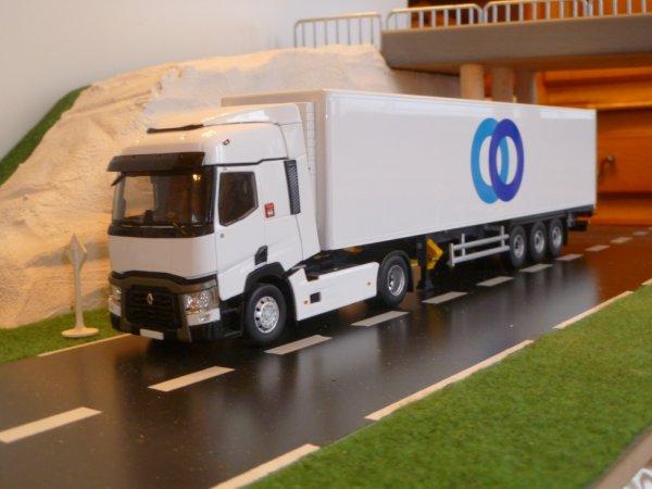 renault t460 transport stef