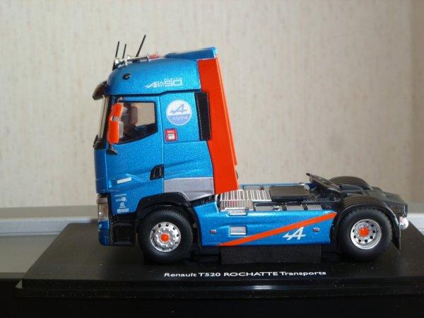 tracteur renault T520 high. transports ROCHATTE