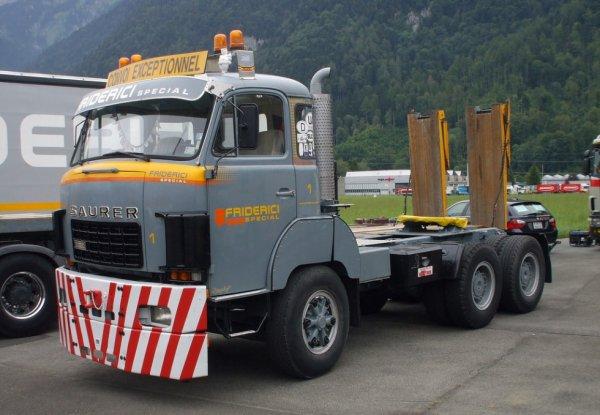 saurer D330  transports friderici .