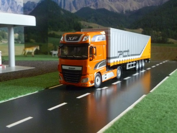 daf XF106 superpace cab