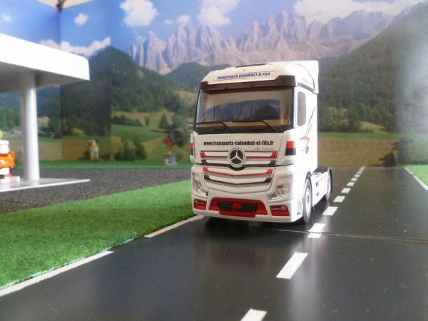 mercedes actros 2 ; transports colombet &fils.