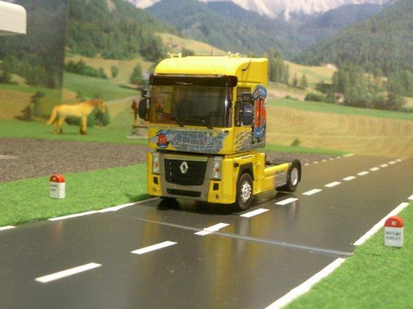 tracteur renault magnum  2008