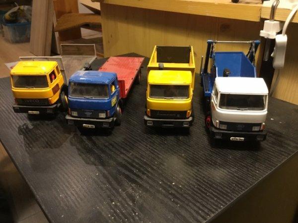Une partie de mes camions
