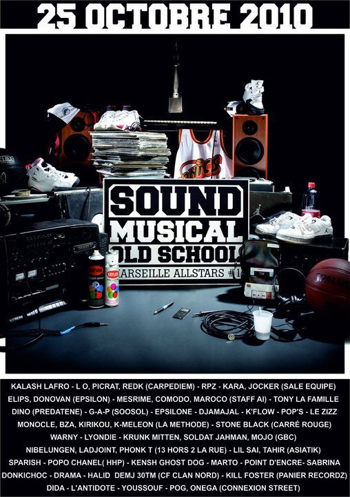 SOUND MUSICAL OLD SCHOOL (marseille all stars)