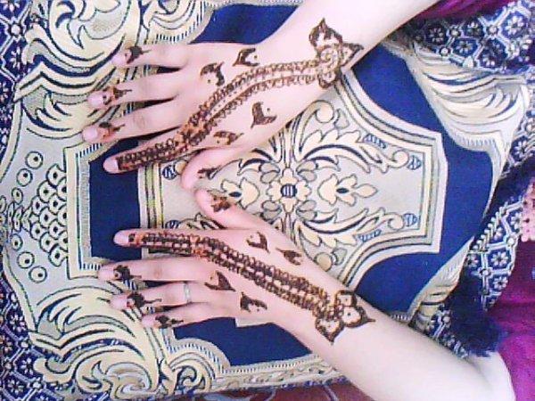 mi tatuaje de henna :)