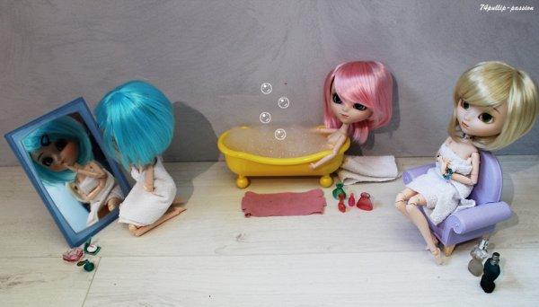 Un bon bain ! <3