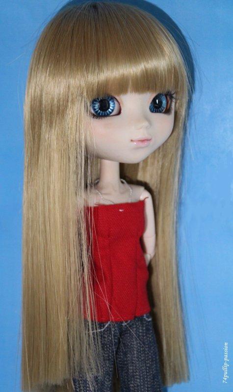 Fond bleu, yeux bleus !