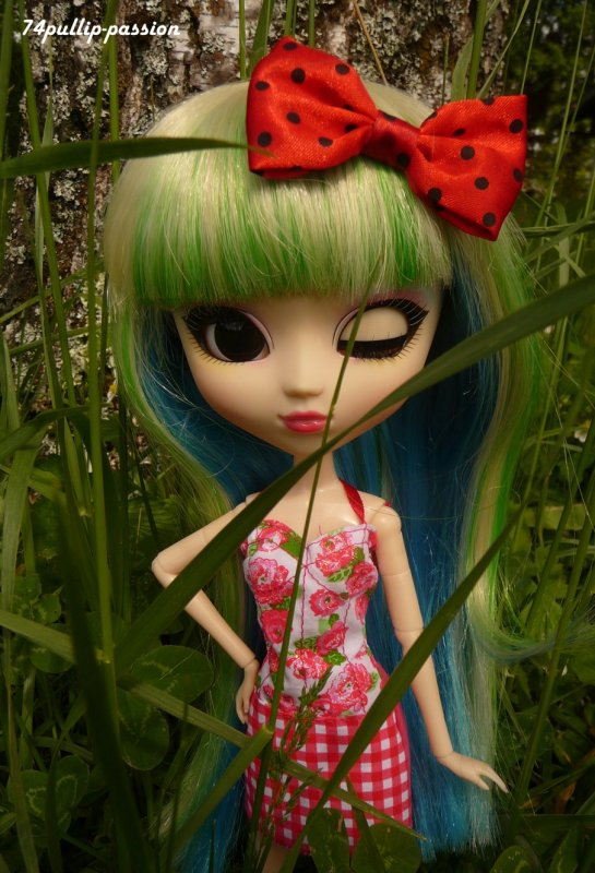 Alweena dans la nature !