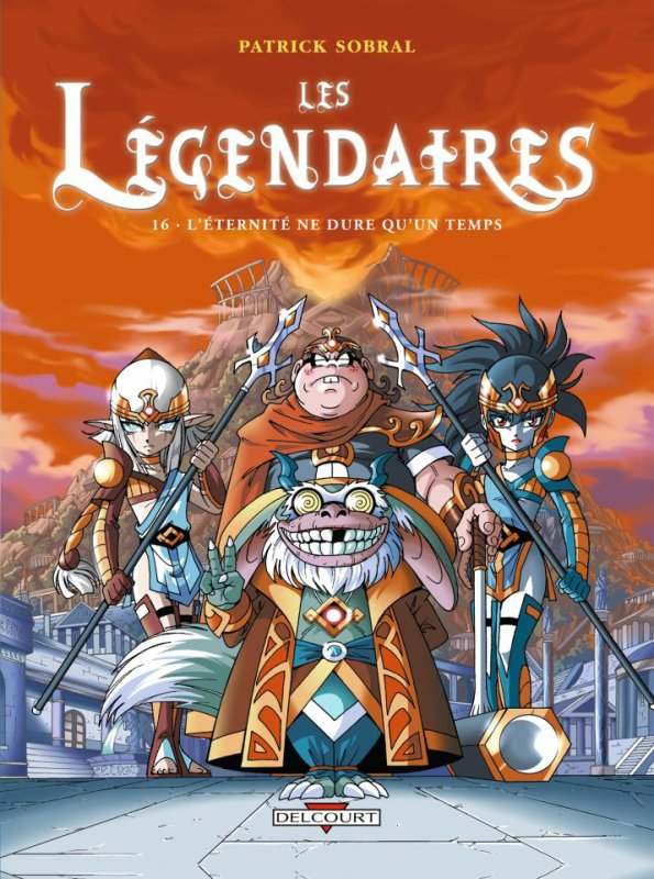 La couverture des Légendaires tome 16 !