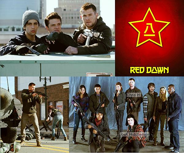 . 2 Août| Deux nouveaux stills du film Red Dawn (2012) + la vidéo officiel du teaser du film. .