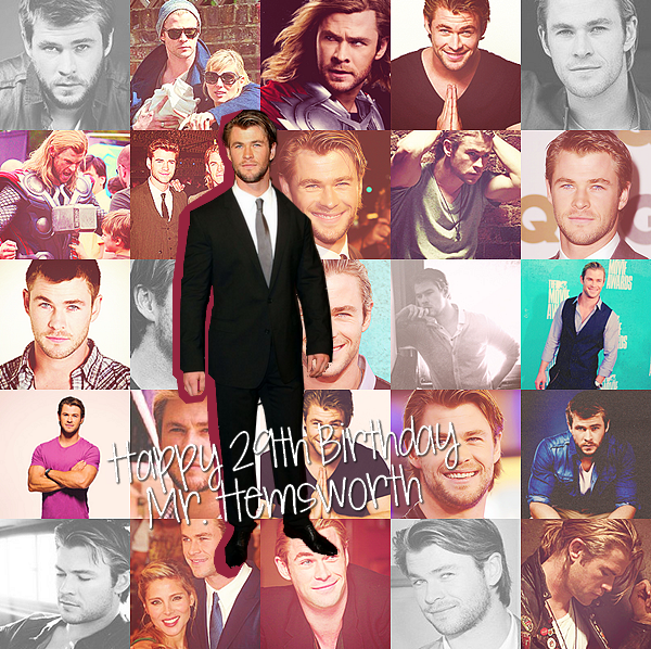 . 10 Juillet, qu'est-ce qu'on souhaite au beau Chris Hemsworth ? .