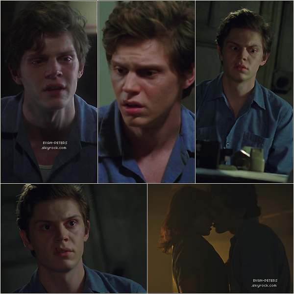 ". 09/11 : Stills de l'épisode 2x04 d'American Horror Story ""I'am Anne Frank"".               Comment trouvez vous Evan en Kit Walker?   ."