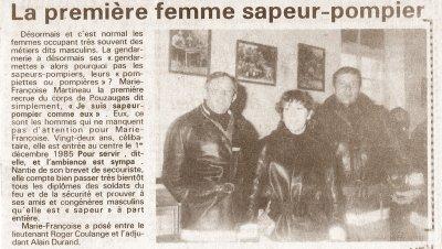 IL Y A QUELQUES ANNEES......NOTRE FAMILLE DE SAPEURS !!!