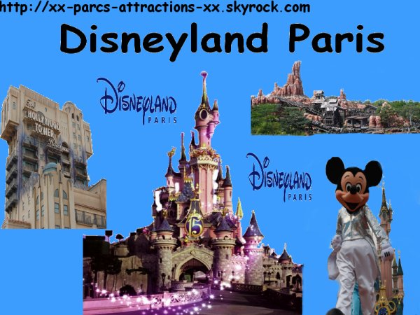 1er Parc:Disneyland Paris