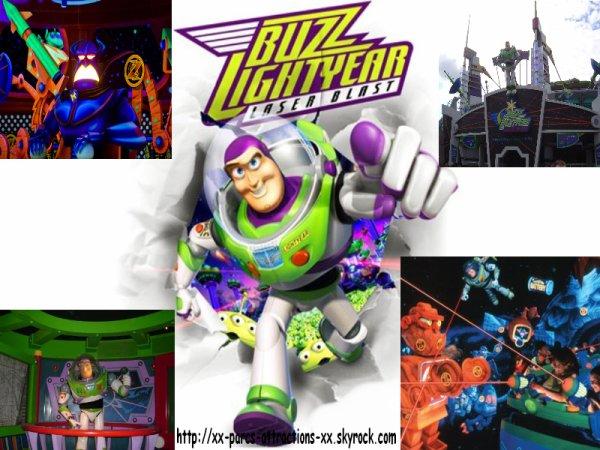 Disneyland Park =>Discoveryland =>Buzz Lightyear Laser Blast
