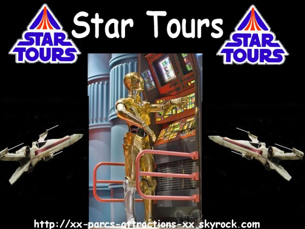 Disneyland Park => Discoveryland => Star Tours