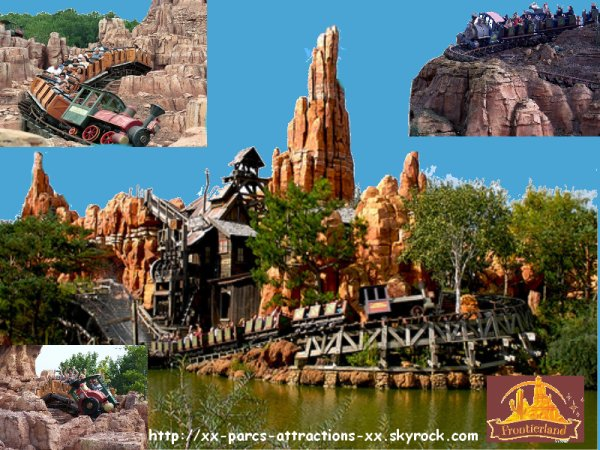 Disneyland Park => Frontierland => Big Thunder Mountain
