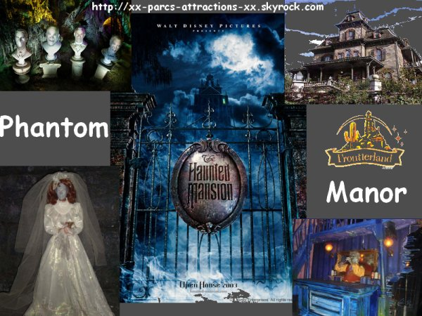 Disneyland Park => Frontierland => Phantom Manor