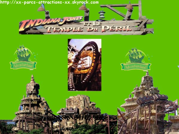 Disneyland Park => Adventureland => Indiana Jones et le Temple du Peril