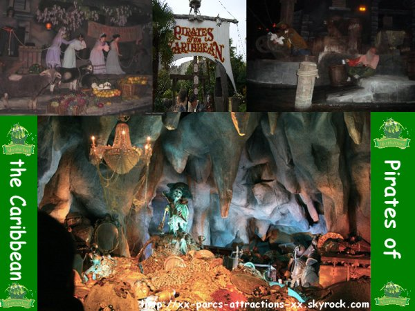 Disneyland Park => Adventureland => Pirates des Caraibes