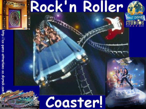 Parc Walt Disney Studios : Rock'n Roller Coaster