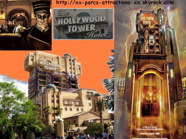 Parc Walt Disney Studios => La Tour De La Terreur