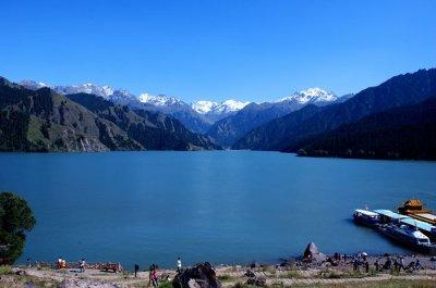 Tian Shan Mountain & Lake Tian Chi