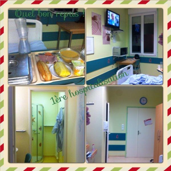 Ma première hospitalisation adulte!!