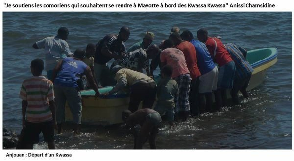COMORES / ANJOUAN : LE GOUVERNEUR ANISSI FAVORABLE AUX KWASSA VERS MAYOTTE SOUS CERTAINES CONDITIONS